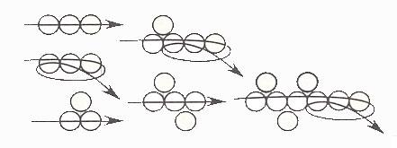 Бисероплетение для начинающих: цепочка зигзаг