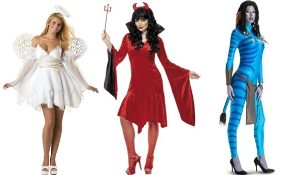 Три костюма для Хэллоуина