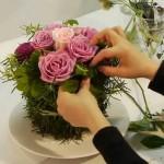 Поделки из цветов своими руками, композиции, фото