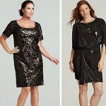 Новогодние платья для пышных женщин. Тренды 2014-2015 года