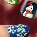 Новогодний маникюр: самые модный дизайн ногтей к Новому году 2015