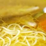 Ароматный куриный суп