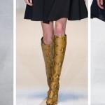 Женская обувь Весна 2015 - сапоги, ботфорты, ботинки, модные тенденции и модели