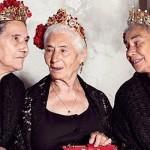 Необычные модели в новой кампании Dolce & Gabbana