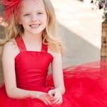 Модные детские платья на выпускной в детском саду 2015