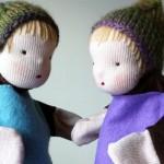 Кукла марионетка из подручных материалов