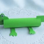 Крокодил из цветной бумаги своими руками