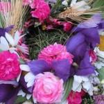 Венок из цветов на свадьбу своими руками
