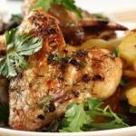Рецепты картофеля с курицей в духовке