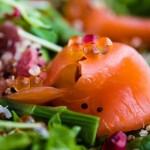 Новогодние салаты с красной икрой