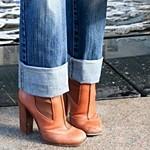 Модные джинсы зима 2013-2014 года: фото самых модных моделей для девушек и женщин