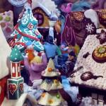 Детские поделки из пластилина на Новый год: фото мастер-класс