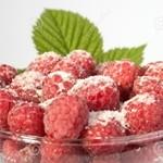 Как заморозить малину на зиму с сахаром