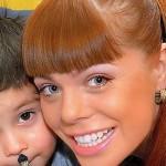 Стоцкая показала своего подросшего сына