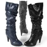 Модные сапоги осень 2012