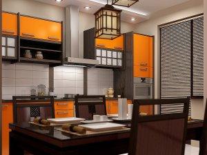 Cucina in stile giapponese
