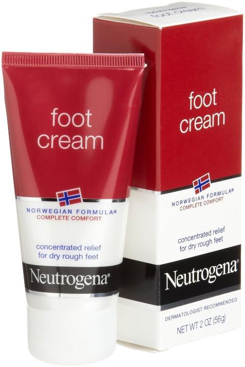 тюбик крема для ног