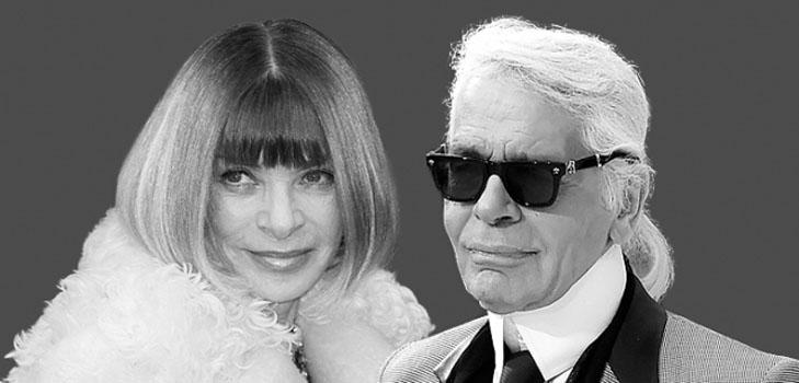 Карл Лагерфельд и Анна Винтур назначили два значимых модных события на один день
