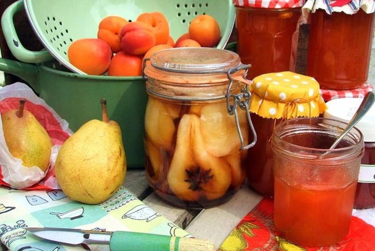 Консервированные груши в сиропе на зиму - фото рецепт, как приготовить