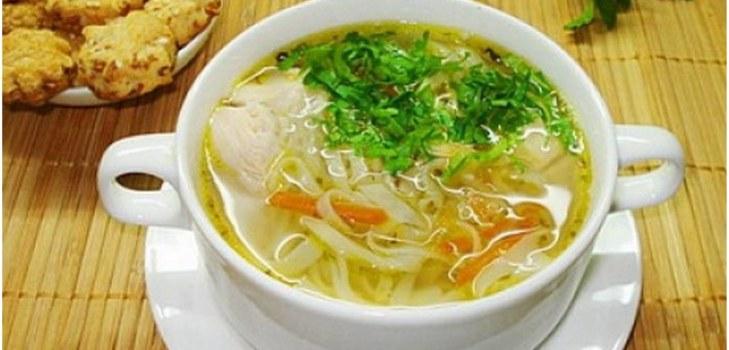 суп в супнице