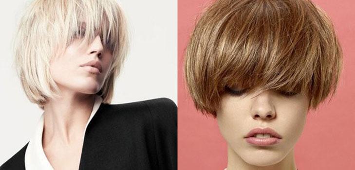 Los Peinados A La Moda Cortos El Invierno 2015 La Foto De Los - Peinados-ala-moda-2015