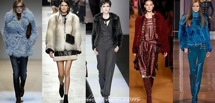 фото модных моделей и фасонов женских шуб
