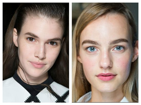 Das stilvolle Make-Up 2015, das Foto. Die aktuellen Tendenzen des ...