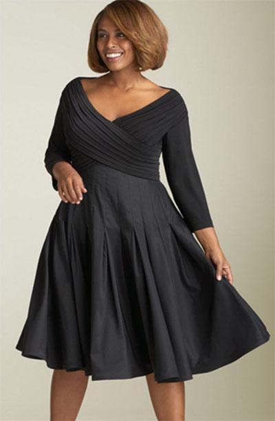 Популярные фасоны платьев, модные цвета и расцветки