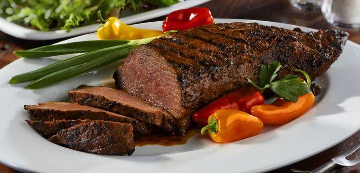 platos con carne