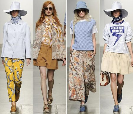 Модные шапки Весна 2015 - тенденции, цвета, фасоны