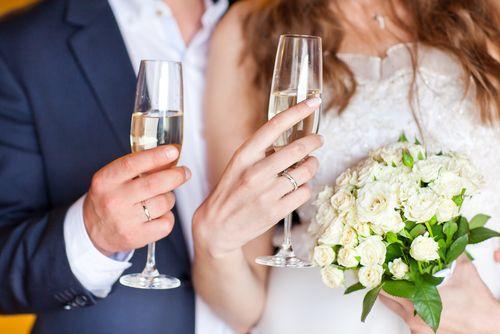 Los brindis de boda al aniversario de la boda las felicitaciones del d a de la boda los - Porcelana celos ...