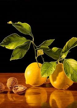 Укрепляющая орехово-лимонная смесь