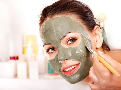 Зимняя маска для лица с оливковым маслом
